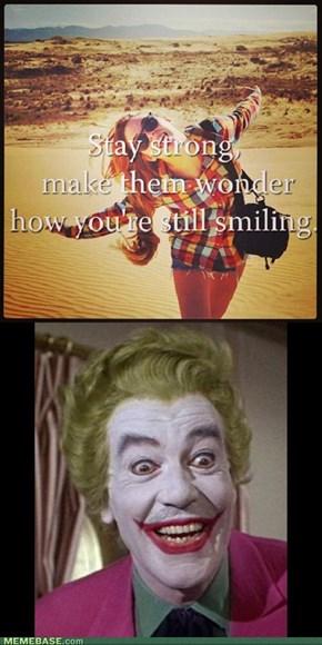Forever smiling