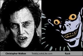 Christopher Walken Totally Looks Like Ryuk