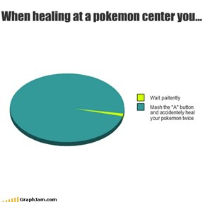 When Healing at a Pokemon Center You...