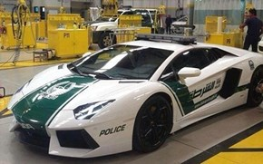 Meanwhile in Dubai: Dubai PD Gets Lamborghini Patrol Cars