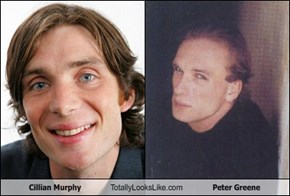 Cillian Murphy Totally Looks Like Peter Greene