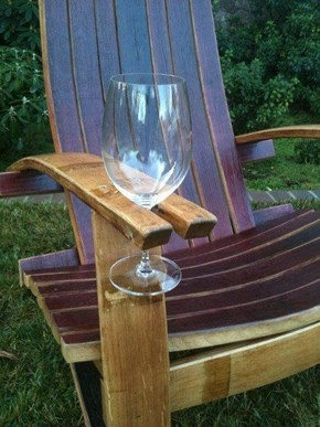 The Perfect Chair to Pair With Your Goblet