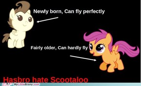 Hasbro Hate Scootaloo