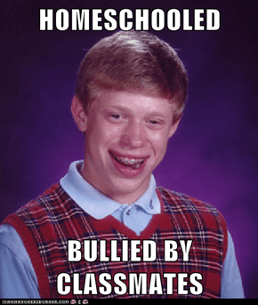 HOMESCHOOLED  BULLIED BY CLASSMATES
