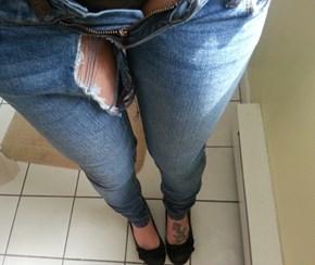 Skinny Jeans a Little Too Skinny?