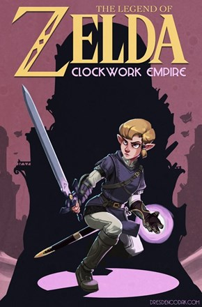 What if Zelda Was the Hero Rescuing Prince Link?