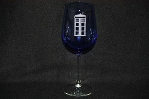 The Doctor Who Wine Glass