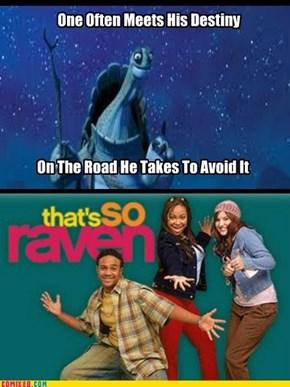 Kung Fu Raven?