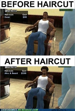 Haircut Logic