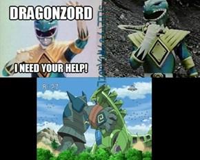 Go Go Tyranizord!