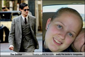 The Doctor Totally Looks Like Emily The Doctor's  Companion