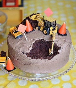 Under Cake-struction