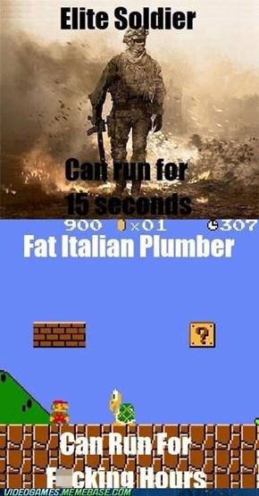 CoD vs Mario