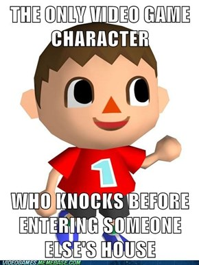 Good Guy Animal Crossing Kid