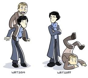 Sherlock Prefers Watsoff