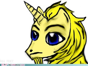 I Made this in Honor of Those Injured During Yesterday's Boston Marathon. Yes, it is the BAA's Unicorn Ponified.