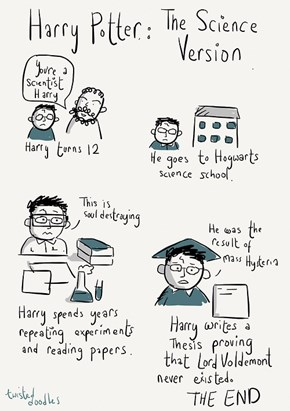 Hogwarts Should Teach Science