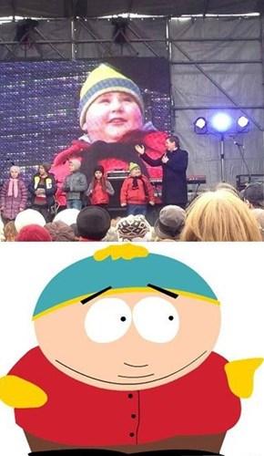 It's Him! It's Really Him!
