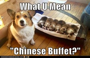 "What U Mean  ""Chinese Buffet?"""