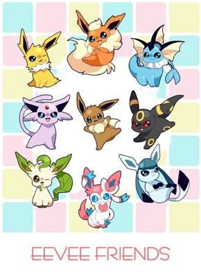 My Little Eeveelutions