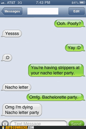 Nacho Letter is My Favorite Party