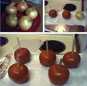 Oh Sweet, I Love Caramel Apples!