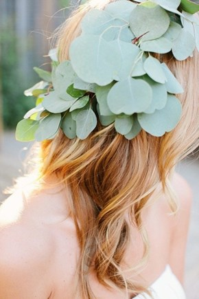 Just Pretty: A Eucalyptus Crown
