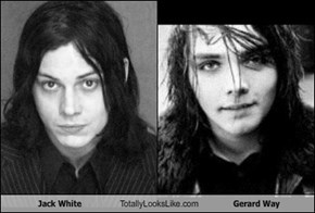 Jack White Totally Looks Like Gerard Way