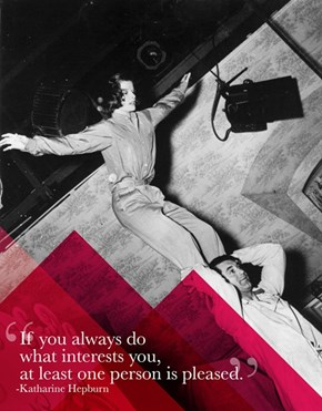 Sage Advice from Katharine Hepburn