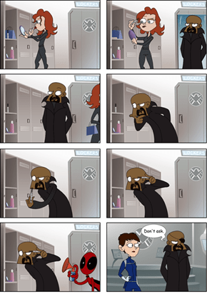 Bad Days: Nick Fury