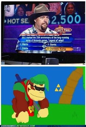 The legend of Donkey Kong