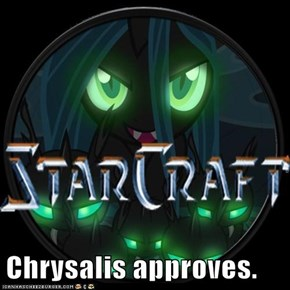 Chrysalis approves.
