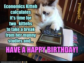 Happy Birthday two_kittehs!