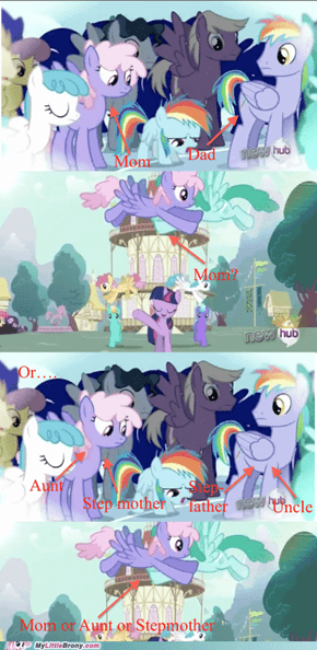 Rainbow Dash's Mom is STILL ALIVE?