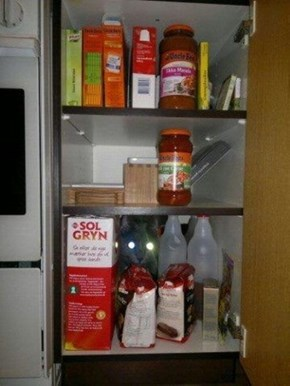 Allllll Up In Yo Cabinets