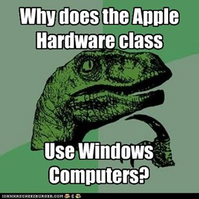 Why does the Apple Hardware class