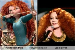 Merida from Brave Totally Looks Like Janet Devlin