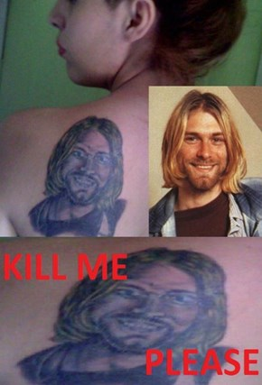 Are You Sure That's Not a Chad Kroeger Tattoo?