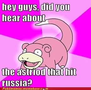 Slowpoke is slow