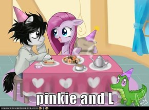 pinkie and L