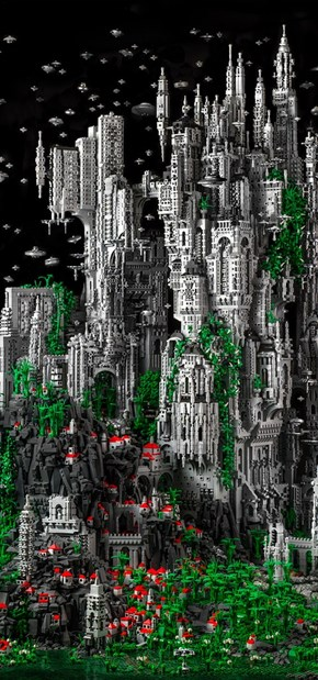 You'll want to Visit This LEGO Utopia