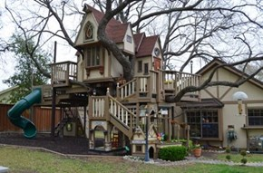 Tree House? Nah, Mansion!