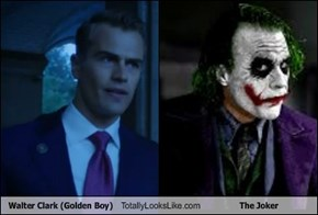 Walter Clark (Golden Boy) Totally Looks Like The Joker