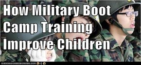 How Military Boot Camp Training Improve Children
