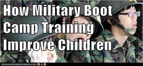 How Military Boot Camp Training Improve Children