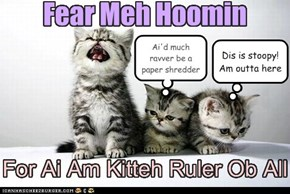 And Ai Will Be Teh Most Fearsome Ruler Yoo Eber Hab Seen