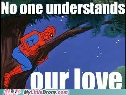 Spiderman loves Fluttershy