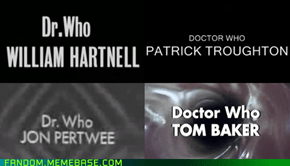 So he's not Doctor who?