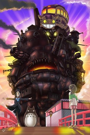 Ghiblis movie-combination