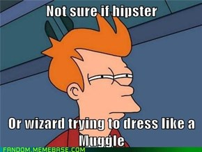 I bought this at a Muggle shop!  Muggles wear them!